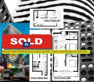 1. SOLD - SQ551 Swanston St Carlton 3053